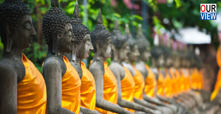 Buddhism brought well-being to Dalits